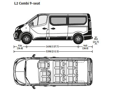 Minibus Dimensions
