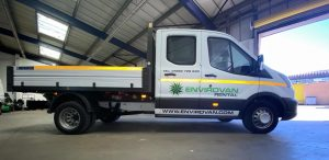 Double Cab Tipper Cropped