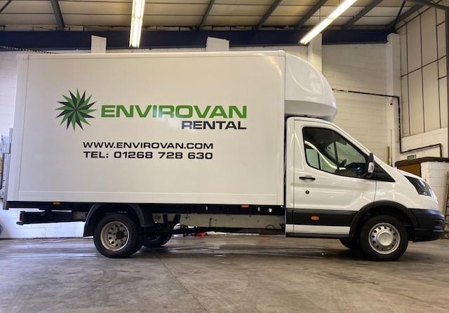 Ford Luton Van