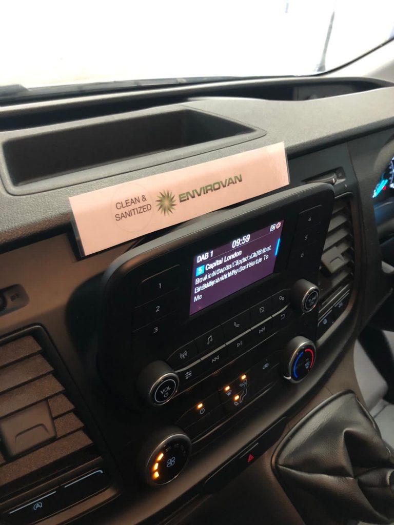cab Sanitizing covid 19